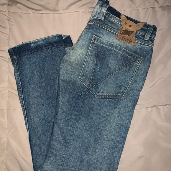 FRANKIE MORELLO denim jeans